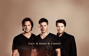 Sam _ Dean _ Castiel by mummy16