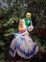 [LoZ:Wind Waker] The Princess and the hero by Lady-aka-Mikuru