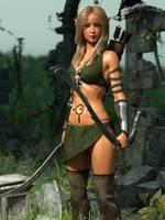 Elf Ranger by chrisryder123