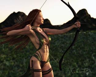 Morning Hunt by chrisryder123