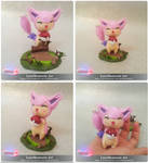 POKEMON SKITTY - POKEMON FIGURE by LuisMonterieArt