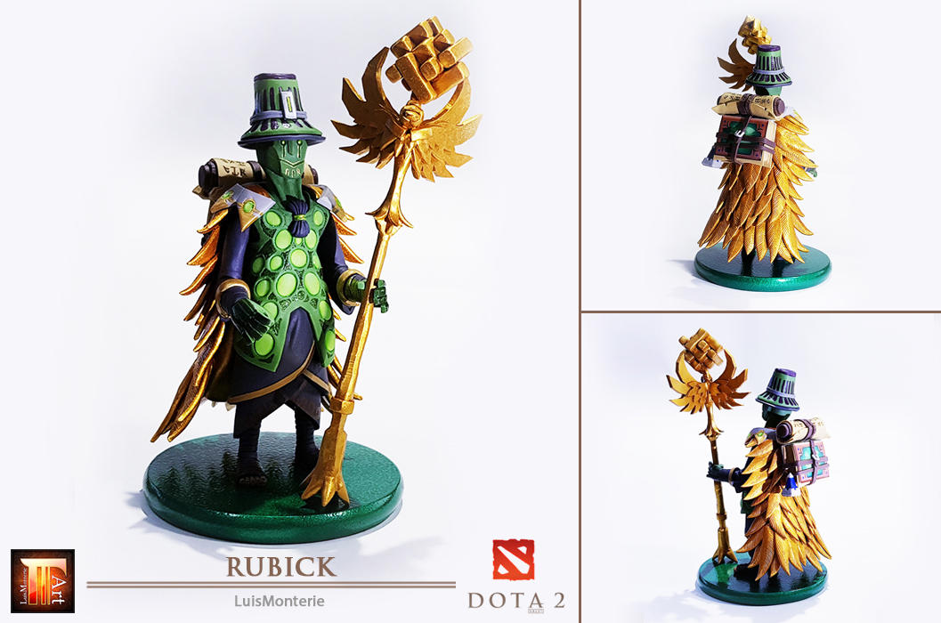 DOTA 2 - Rubick Figure _ Sculpt This Again 2 by LuisMonterieArt