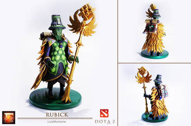 DOTA 2 - Rubick Figure _ Sculpt This Again 2 by LuisMonterieArt