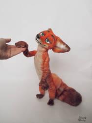 100% my handmade Nick Wilde (Fox of Zootopia) 50cm by JulyGass