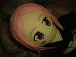 Yachiru Plushie_ Close Up by renealexa