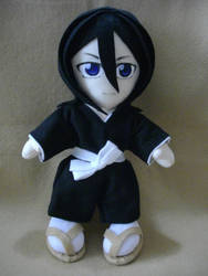 Rukia Plushie_ Full Scene by renealexa