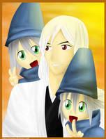 Ukitake And The Twins_Dady by renealexa