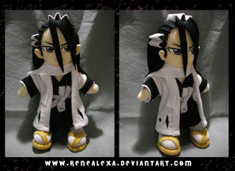 Com_Kuchiki Byakuya_Plush by renealexa