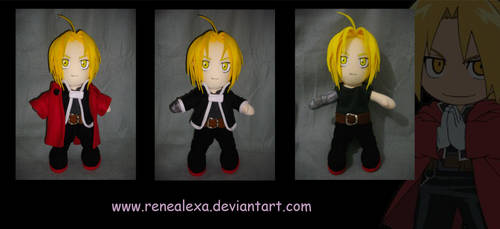 Edward Elric_Plushie by renealexa