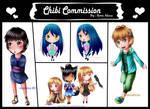 Chibi Commission by renealexa