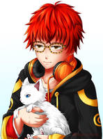 Mystic Messenger - Seven and Elly by renealexa