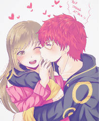 707 Smooch Attack by renealexa