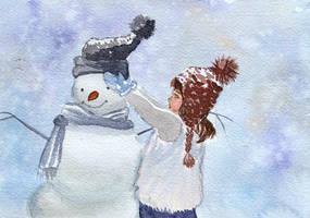 Snowman by Irik77
