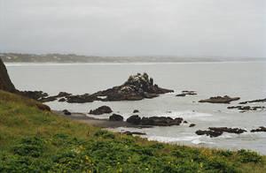 Rocky Coast II by mackilvane