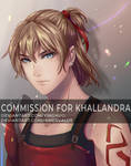 Fishes Collab Commission - Khallandra by yinghuo