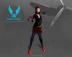 Amelia's Airfreight by kaario