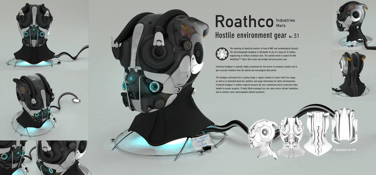 Roathco Helmet by kaario