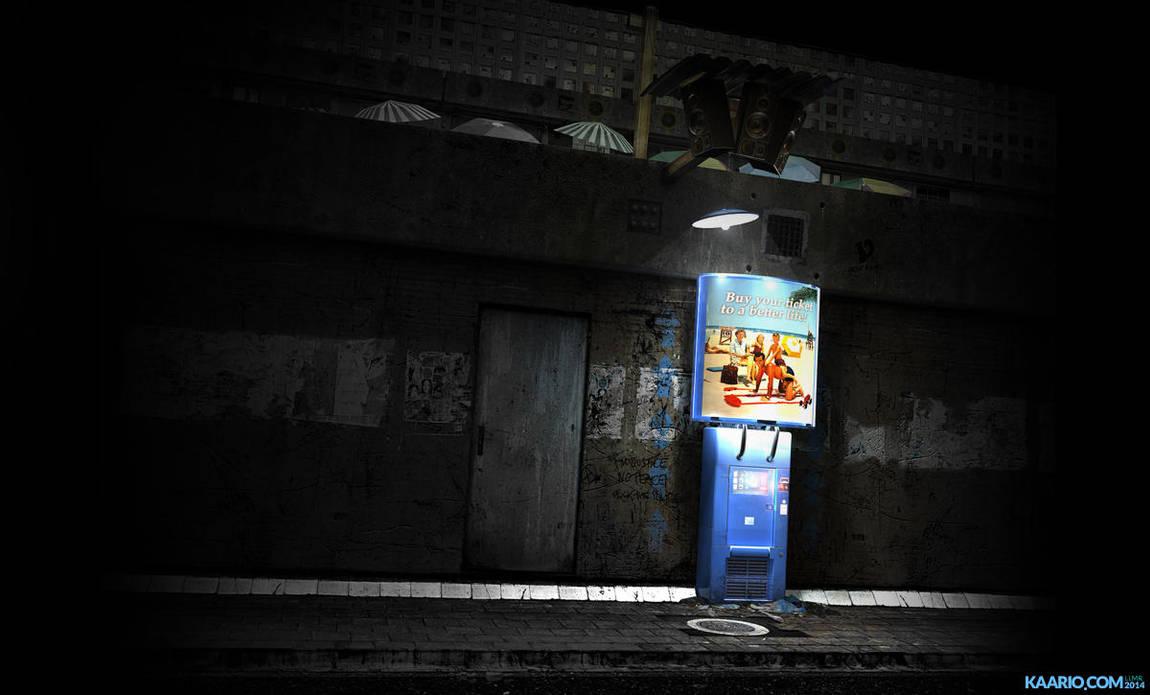 Street Scene by kaario
