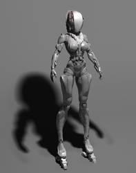 Female Bodysuit Test by kaario