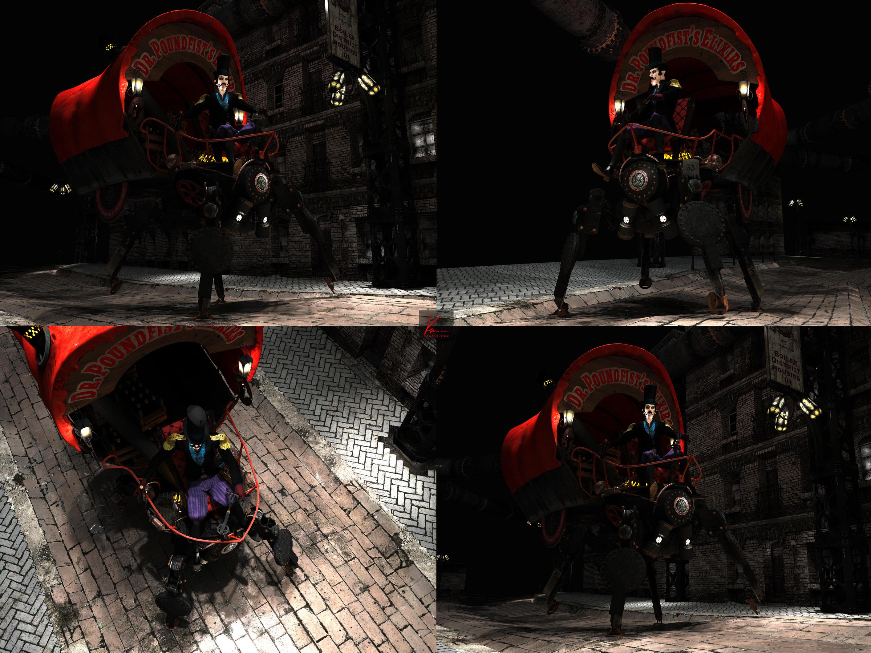 Steamwalker - preproduction shots by kaario