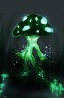 Toxic Shroom by 23MC-Studio