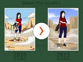 Draw This Again: Anna by i-n-o-e