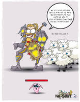 War sheep warcraft by kalhaaan