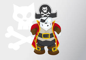 Pirate of cat-raibe by kalhaaan