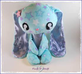 Kawaii Starry Sweet Bunny by SailorMiniMuffin