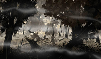 The Forest We Traverse by Punished-Kom