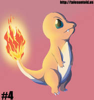Charmander - Gotta Draw 'Em All #4 by Punished-Kom