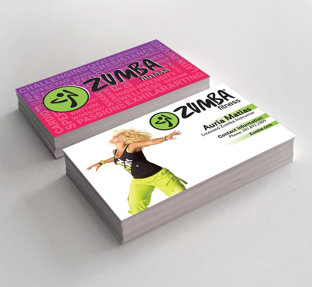 Zumba Business Cards By Ljackson391 On Deviantart