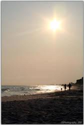 Walking On The Beach by forwardcomespossum