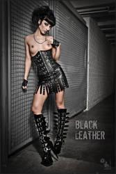 Black Leather by MagistusFoto