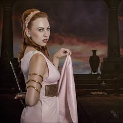 Dangerous Roman Beauty by MagistusFoto