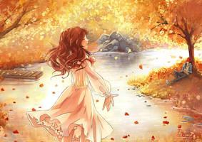 Autumn Commission for Sahsensha by Arkuny