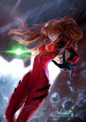 Asuka Langley (NSFW on Gumroad) by Arkuny