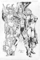 The Top Cow's Team by Mariah-Benes