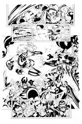 Miss Marvel 29 Pg 17 Inks by Mariah-Benes