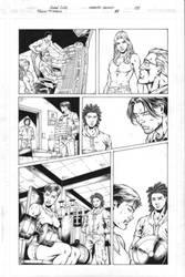 Teen Titans 83 pg 08 Inks by Mariah-Benes