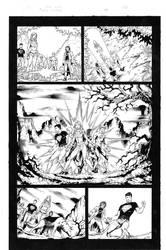 Teen Titans 84 pg 05 Inks by Mariah-Benes