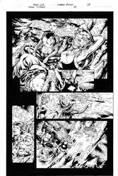 Teen Titans 84 pg 08 Inks by Mariah-Benes