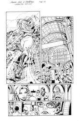 Wonder Girl Page 02 Inks by Mariah-Benes