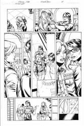 Wonder Girl Page 03 Inks by Mariah-Benes