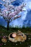 Tech-Bunny by Kaffee-Junkie