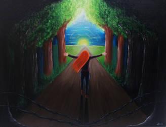 Freedom by MagicalMerlinGirl