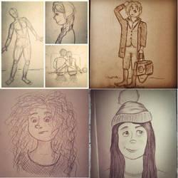 Sketchezzz by MagicalMerlinGirl