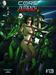 CORE #13: OUTREACH Alternate Cover by uzobono