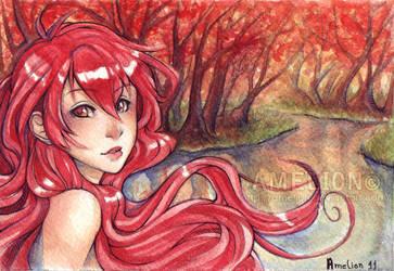 . Autumn forest - Daniel . by Amelion