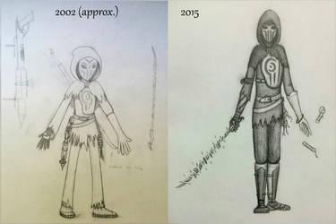 'Draw it Again' Ninja by ObsceneProfane